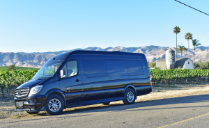 luxury sprinter for wine tour