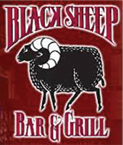 black sheep logo- downtown nightlife