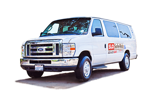 van for wine tours