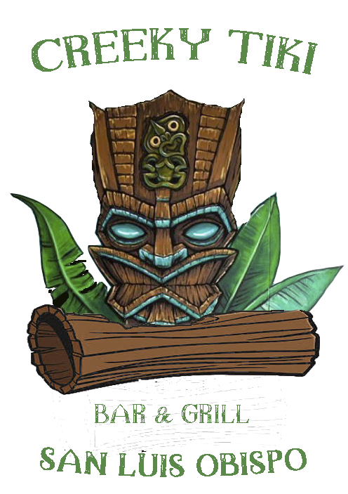 creeky tiki logo- downtown nightlife