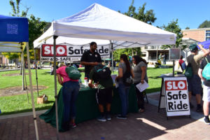 slo safe ride at cal poly
