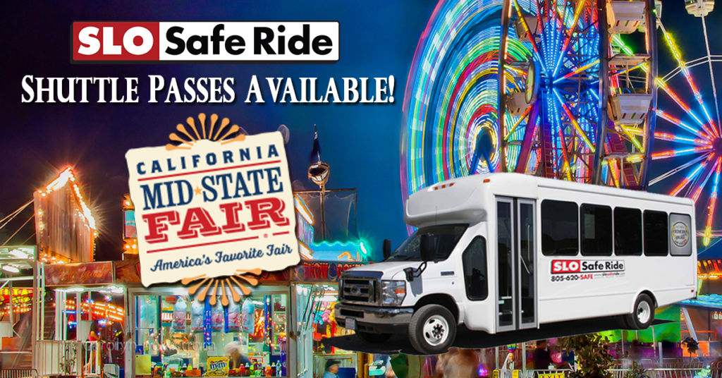 Hitch a SLO Safe Ride to the Mid-State Fair 2019 Concerts