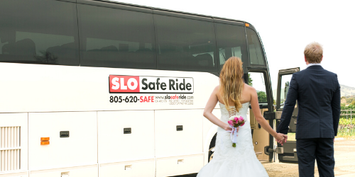wedding shuttle services paso robles and san luis obispo